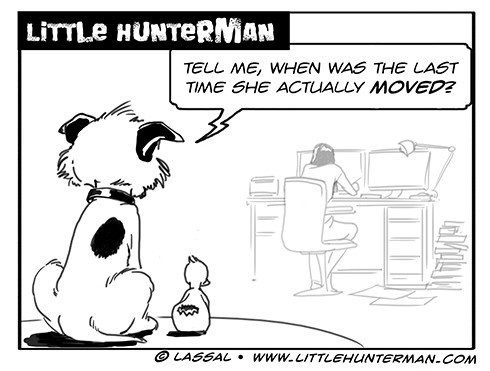 Little Hunterman Daily Cartoons 2013-10-20