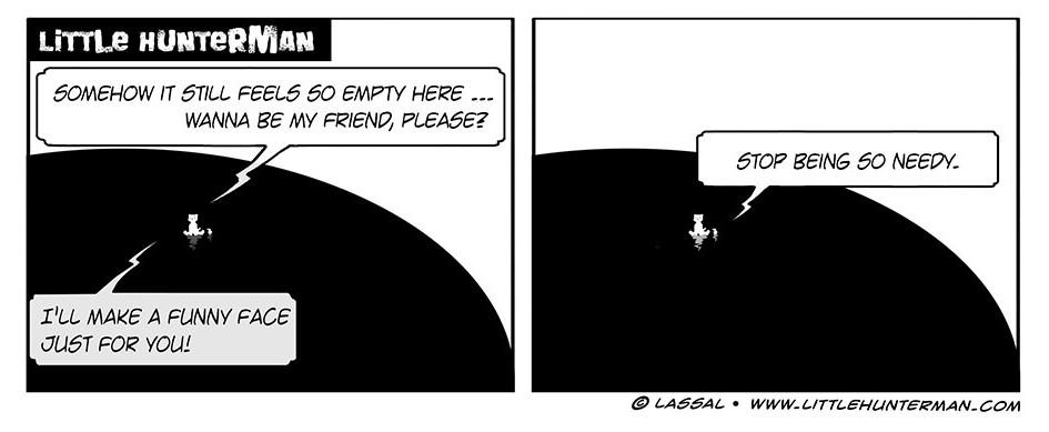 Little Hunterman Daily Cartoons 2013-10-21