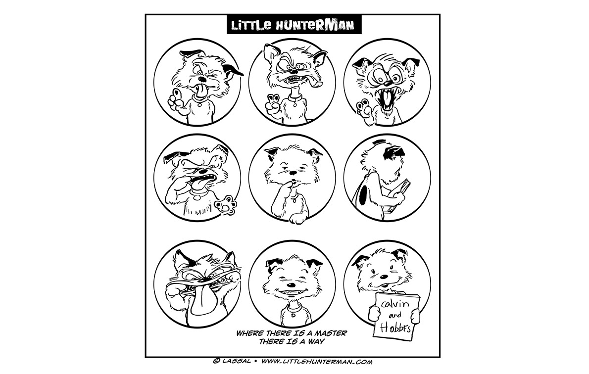 Little Hunterman Daily Cartoons 2013-10-24