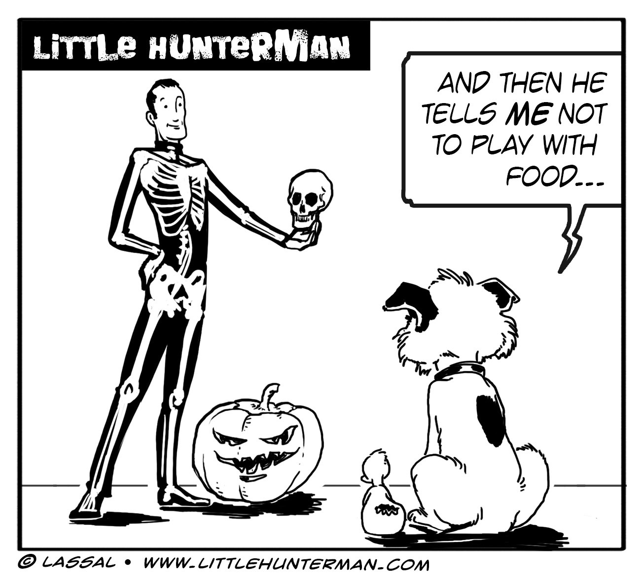Little Hunterman Daily Cartoons 2013-10-31