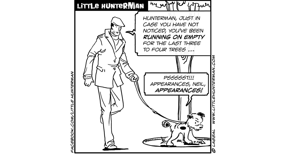Little Hunterman Daily Cartoons 2013-12-17, Keeping up with The Appearances