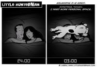 Little Hunterman - personal space