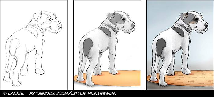 Little Hunterman – the making off