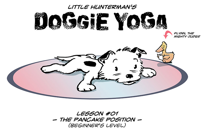 Little Hunterman – Doggie Yoga 01
