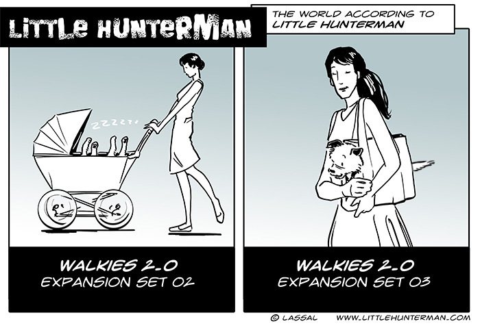Little Hunterman – Expansion Set 2+3