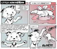 Little Hunterman – A Big Fat And Almost Bloody Monday