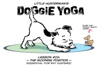 Little Hunterman-doggie yoga 02