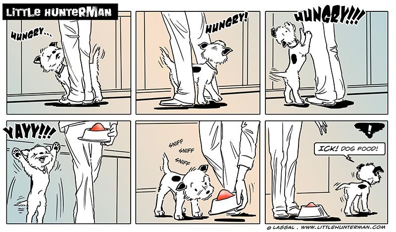 Why Dog Food?!