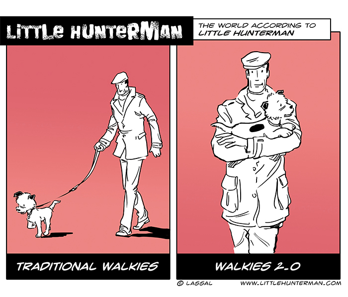 Little Hunterman – Walkies 2.0