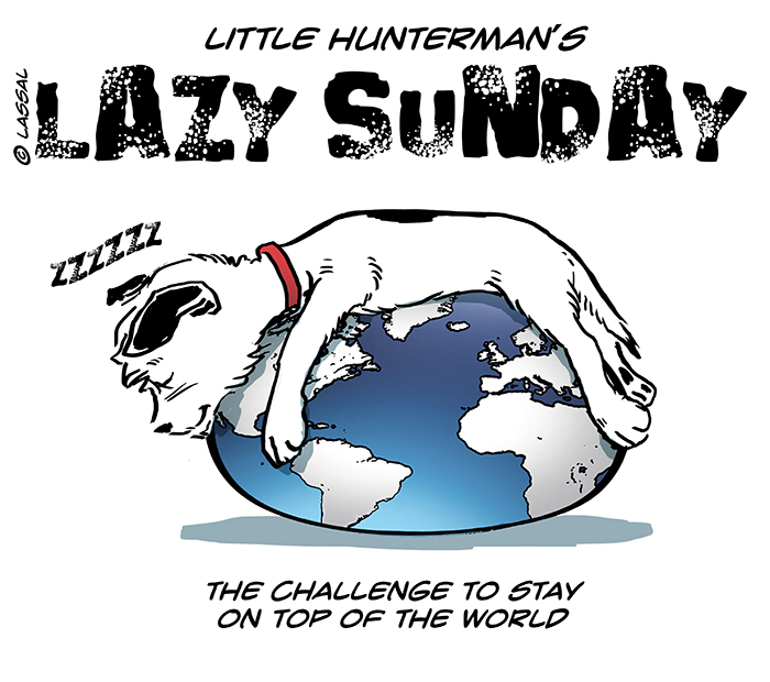 Little Hunterman_ worddomination -lazy-sunday