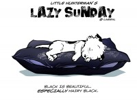 Little Hunterman - Lazy Hairy Black Sunday