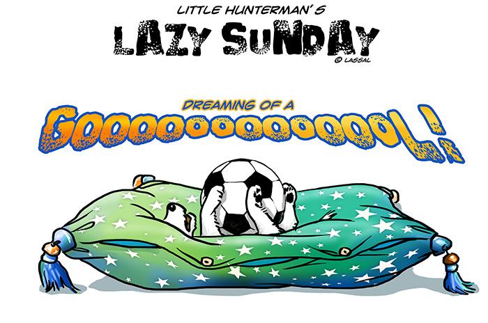 Lazy Soccer Sunday