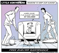 LittleHunterman - Free Shelter Maintenance