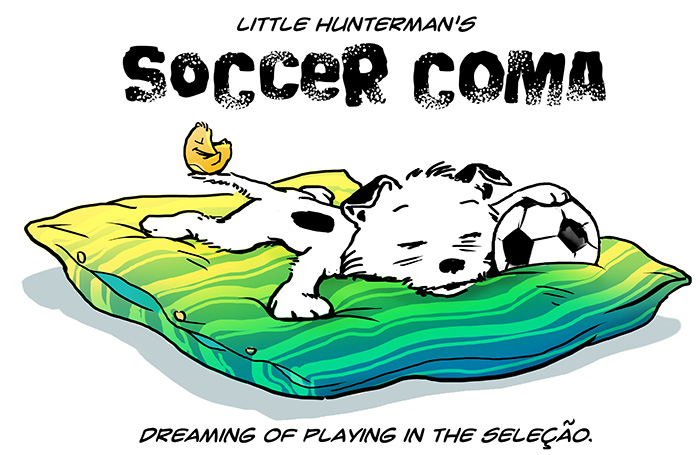 Little Hunterman – Soccer Coma