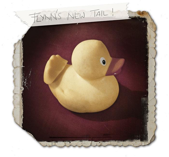 Meet Flynn's New Tail!