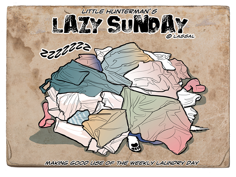 Lazy Laundry, err, Sunday