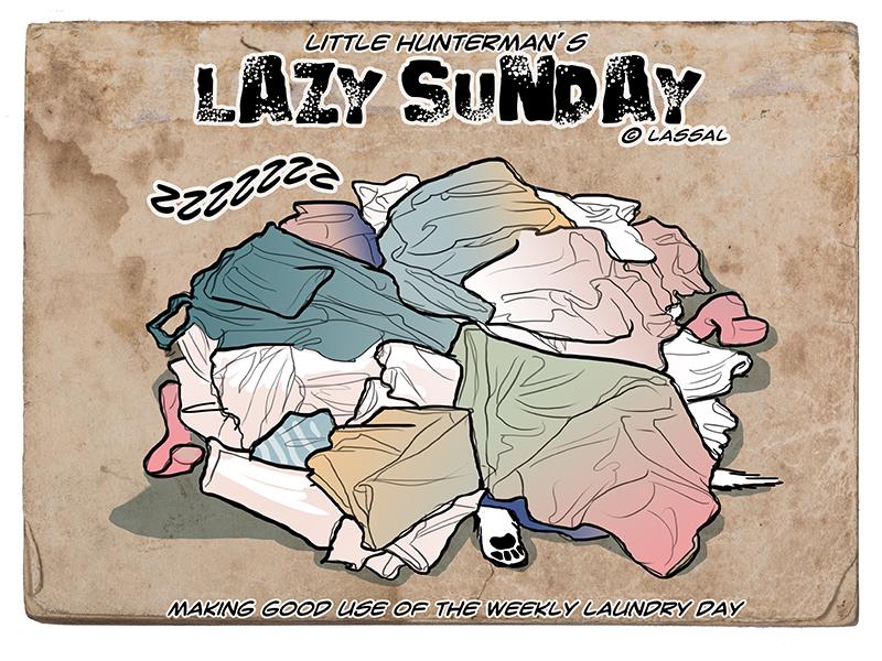 Lazy Laundry, err, Sunday