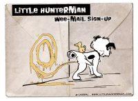 LittleHunterman-wee-Mail sign-up