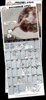 Little Hunterman monthly calendar anouncement