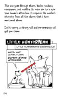 The Big World According to Little Hunterman Page